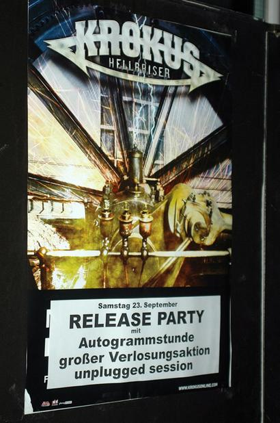 Hellraiser Release Party Poster