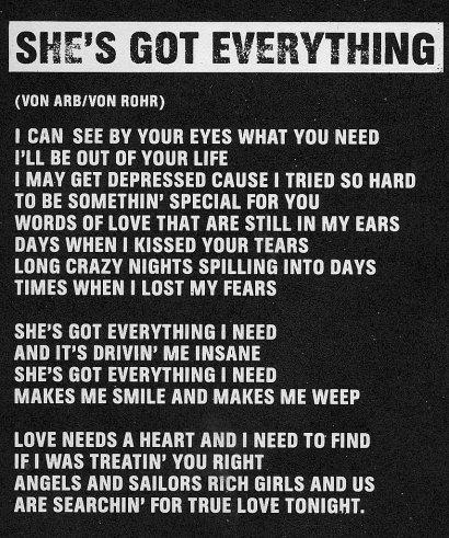 She's Got Everything
