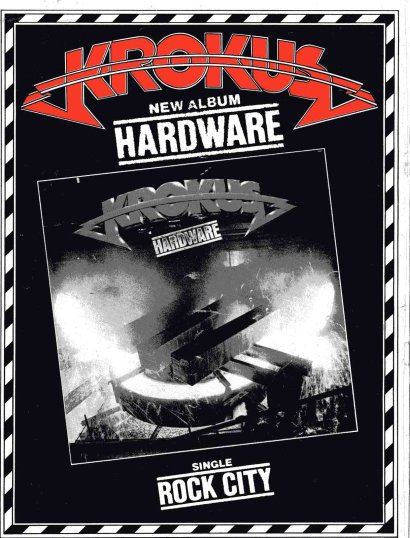 Hardware Tour Book Ad