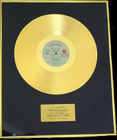 Gold Record Award