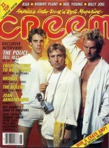 Creem November 1983 cover