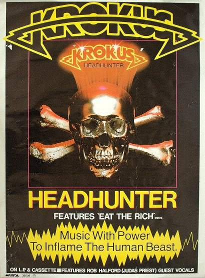 HEADHUNTER Poster Ad