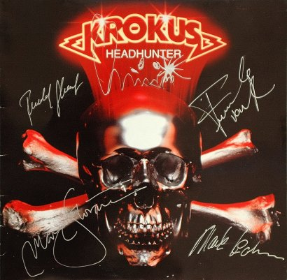Signed HEADHUNTER album