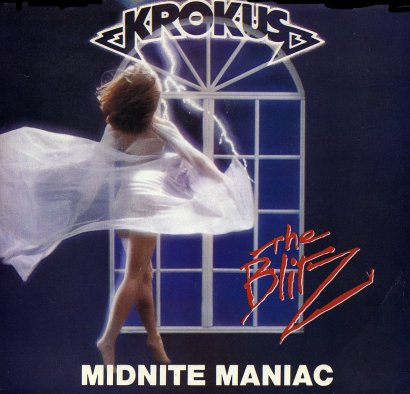 'Midnite Maniac' 45 single cover