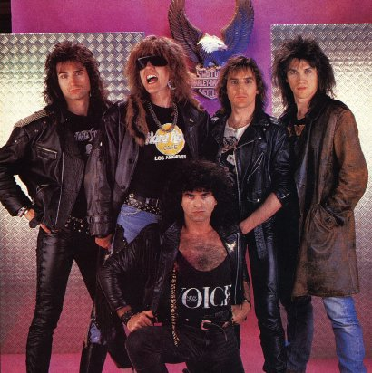 Krokus 1988 Heart Attack Line-Up