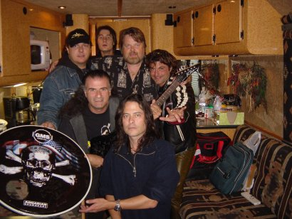 Peter & Band In Tour Bus 2005 Denver
