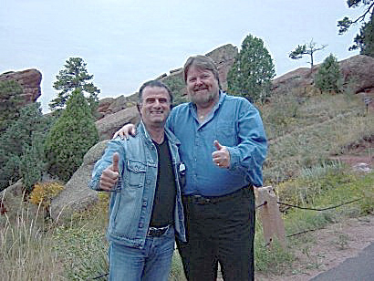 Marc & Peter 2005 Red Rocks Denver
