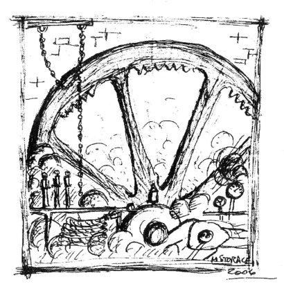 Marc's Original Sketch of Cover