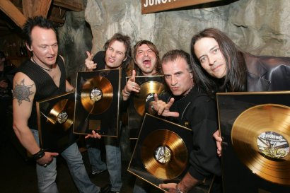Gold Record Award 4-11-2007 Alpenrock House Zurich