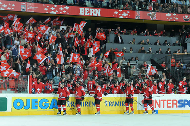Ice Hockey Playoff Switzerland - France