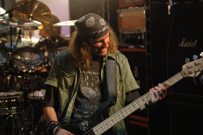 Chris Von Rohr on bass