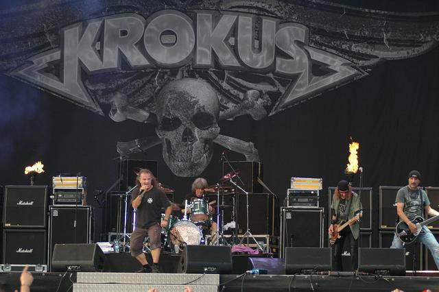 Krokus rock 'Bang Your Head' Open Air