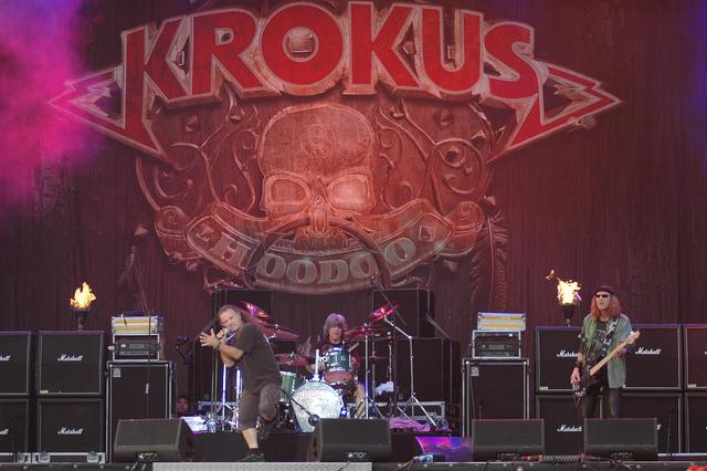 Krokus at BYH Open Air