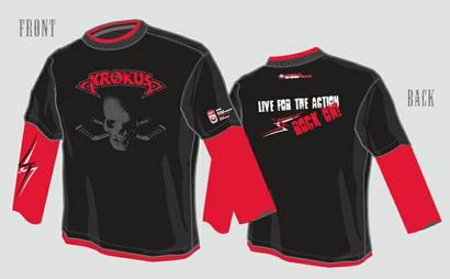 'Live For The Action' Long Sleeve T-Shirt