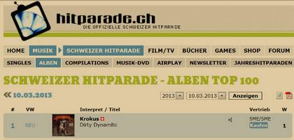Swiss Hitparade #1