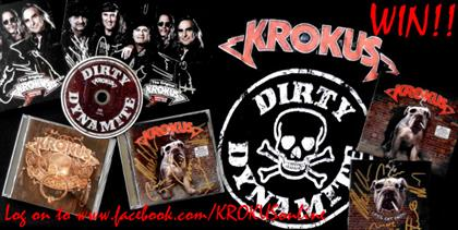 Log on to www.facebook.com/KROKUSonline and follow contest instructions