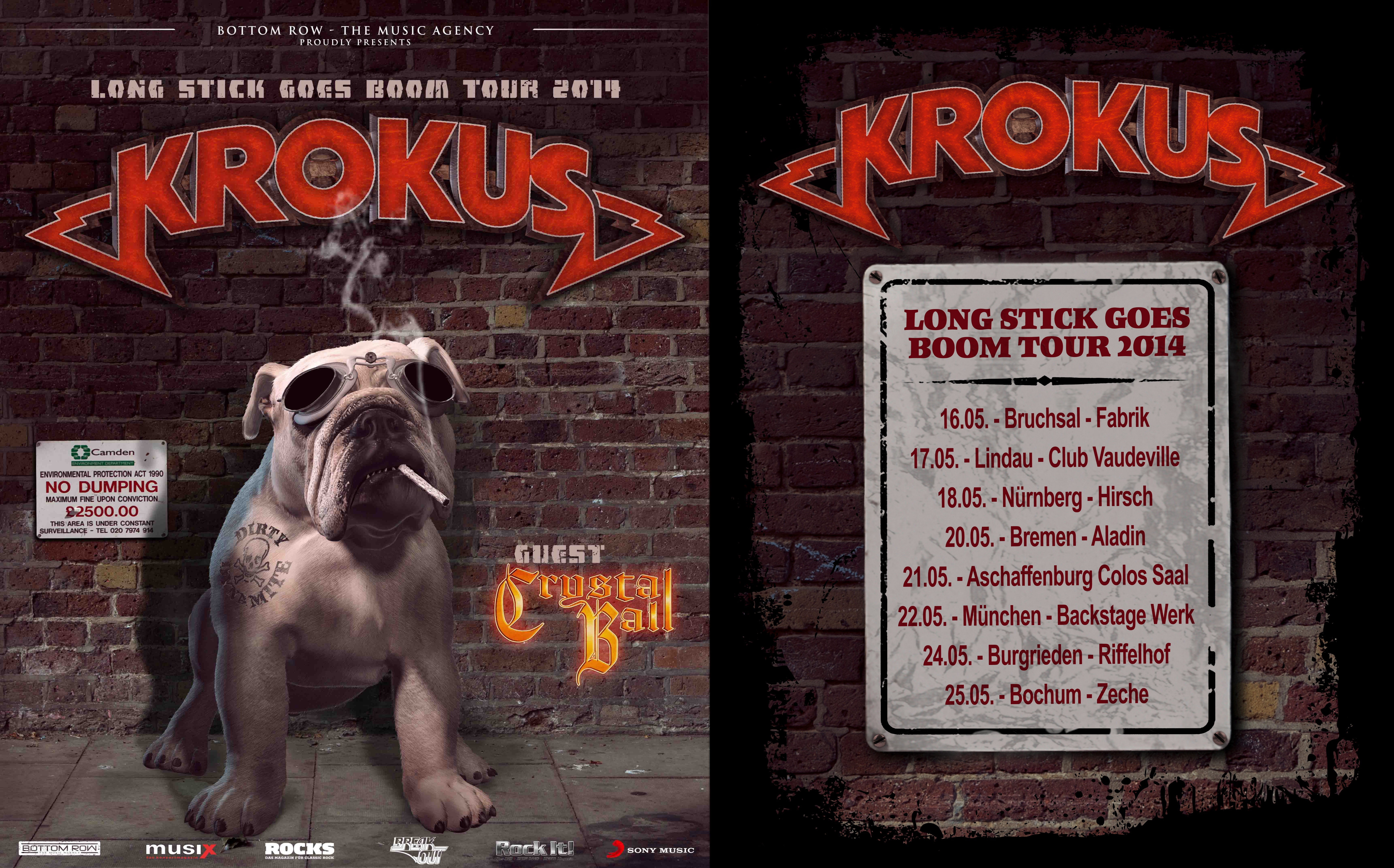 German 'Long Stick Goes Boom' Tour 2014