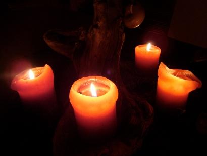 Candles mood