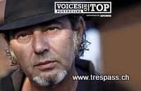 Besuche Luca Carboni mit Trespass und dem Voices on Top